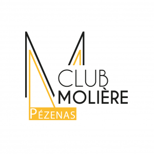 LOGO CLUB MOLIERE BLACK